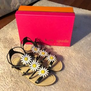 Kate Spade Sunflower Sandals